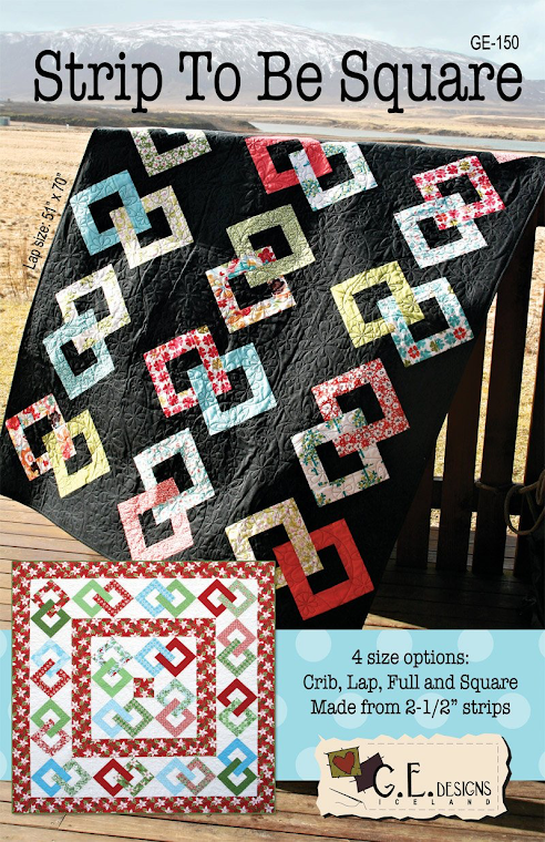 Strip To Be Square by Gudrun Erla for GE Designs