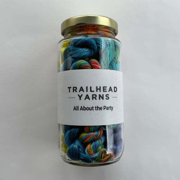 All About The Party Collection - Acorn Threads by Trailhead Yarns