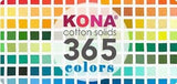 White - Kona Cotton Solids by Robert Kaufman
