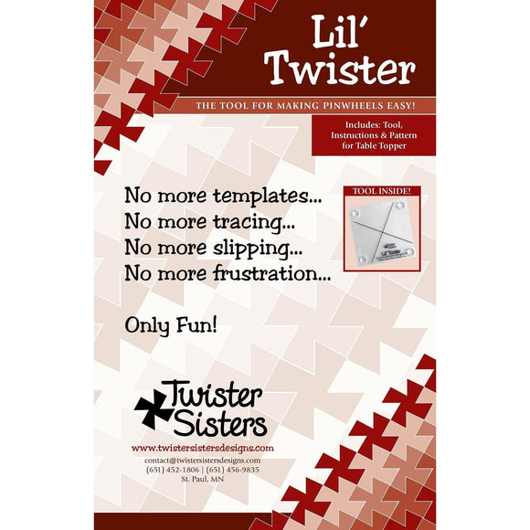 Lil' Twister  Template Pattern by Twister Sisters