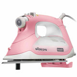 OLISO PRO TG1600 Smart Iron - Designed for Quilters and Sewers - Pink