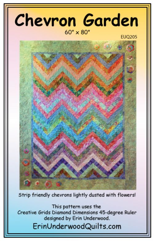 Chevron Garden Pattern by Erin Underwood
