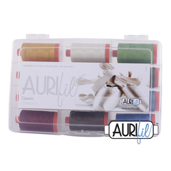 The Classic Collection - (12) Large 50wt Spools - Aurifil Thread