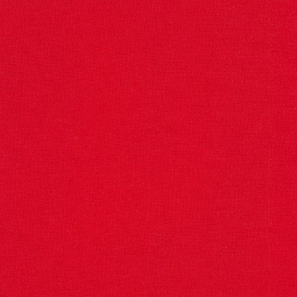 Red - Kona Cotton Solids by Robert Kaufman
