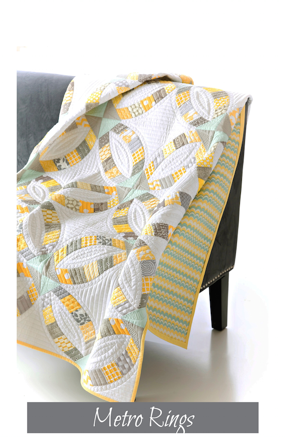 Metro Rings quilt pattern by Sew Kind of Wonderful - Quick Curve