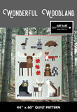 Wonderful Woodland by Art East Quilting Co Quilt Kit - Choose With Pattern or No Pattern