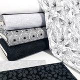 White/Black - 23919-99 - Simply Neutral 2 by Northcott Fabrics