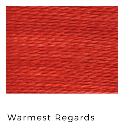 Warmest Regards - Acorn Premium Hand-Dyed 8 wt Hand Stitching Thread - 20 yds