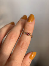 Load image into Gallery viewer, wrap-around-snake-ring-with-rubies-and-diamonds