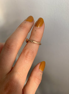Kaa Cast Ring | Recycled 14k Gold