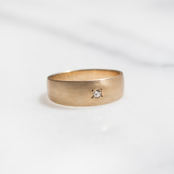 Vintage Wedding Band | 14k Gold