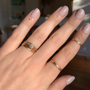 Ruth Ring | Recycled 14k Gold