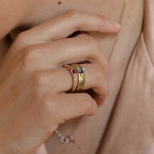 Load image into Gallery viewer, Kaa Cast Ring | Recycled 14k Gold