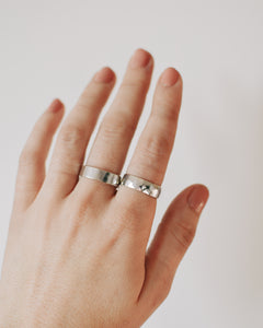 Ultra Wide Band | Recycled Sterling Silver
