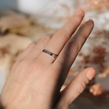 Load image into Gallery viewer, Wide Band | Recycled Sterling Silver