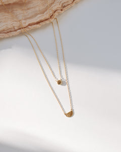 Nugget Necklace | Recycled Gold or Silver