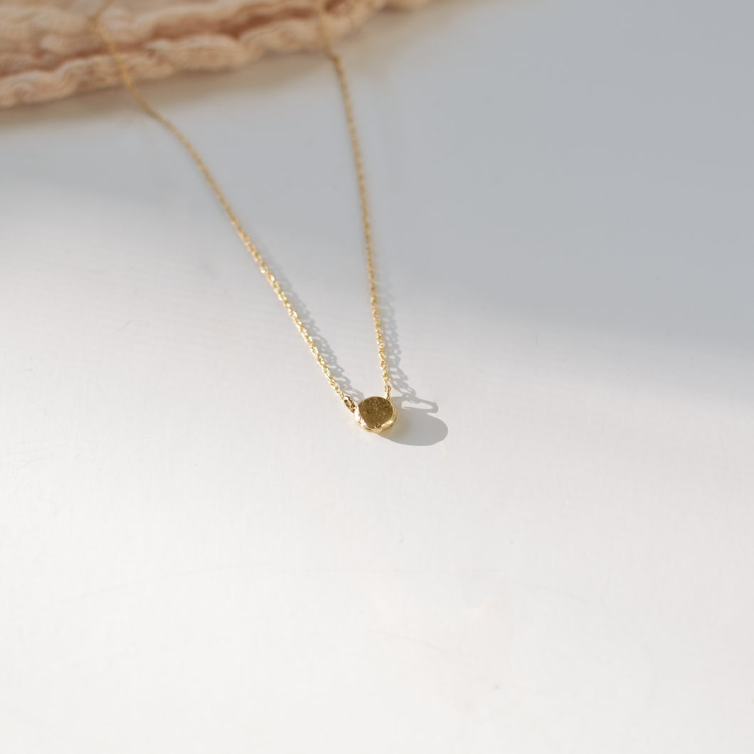Coin Necklace | Recycled 14k Gold