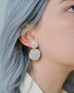Retrograde Earrings | Recycled Sterling Silver