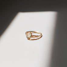Load image into Gallery viewer, Aurora Solitaire Ring | Recycled 14k Gold