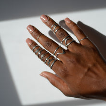 Load image into Gallery viewer, handmade-sterling-silver-stacking-rings