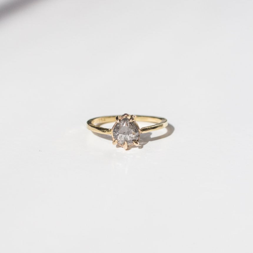 Ethically-Made-18k-Gold-Salt-Pepper-Diamond-Engagement Ring