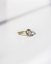 Load image into Gallery viewer, Ethical-Sustainable-Solitaire-Salt-Pepper-Diamond-Ring