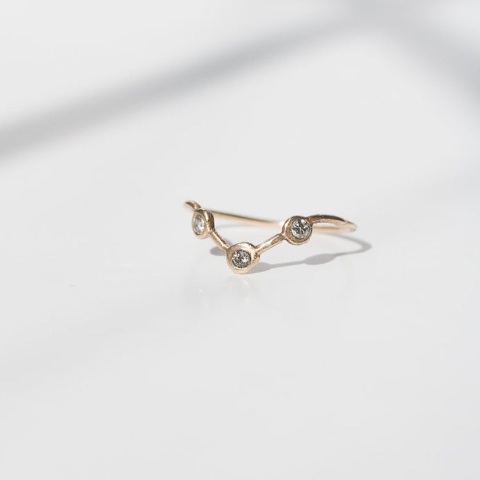 Vega Ring | 14k Recycled Gold