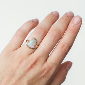 Vintage Opal Ring | Recycled 14k Gold