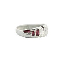 Load image into Gallery viewer, handmade-red-spinel-sterling-silver-ring