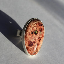 Load image into Gallery viewer, fire-opal-sterling-silver-ring