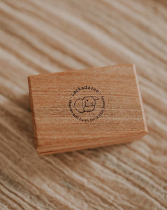 Lackadazee double side by side wooden ring box