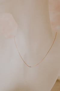 Disco Necklace | Recycled Gold or Silver