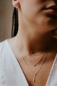 Rope Chain Necklace | Recycled Gold or Silver