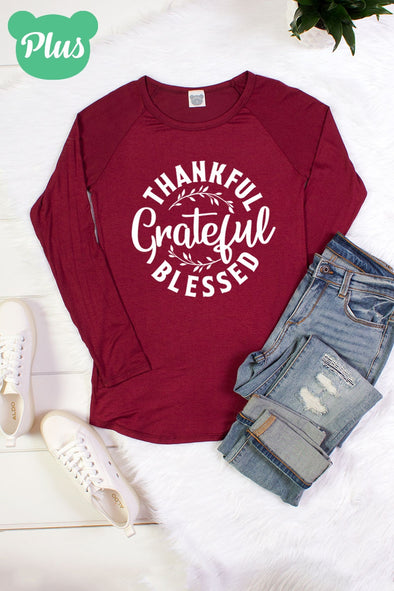 Grateful long sleeve graphic Tee