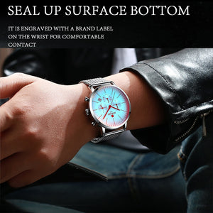 Top Luxury Men's Stainless Wrist Watch - Zorbba