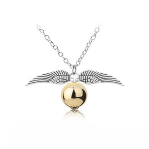 Angel Wing Charm Necklace - Zorbba