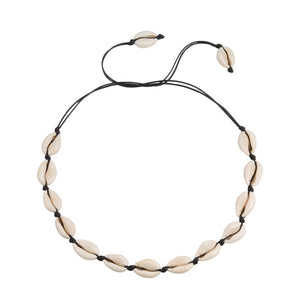 Puka Shell Beach Necklace for Women - Zorbba