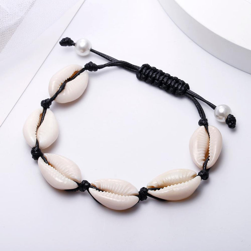 Puka Natural Shell Ankle Bracelet - Zorbba