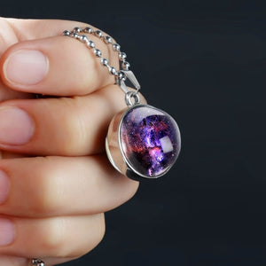 Galaxy Outer Space Fashion Necklace - Zorbba