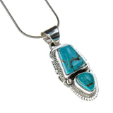 Sterling Silver Turquoise Siera Nevada Necklace
