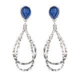 Sterling Silver Kyanite Earrings