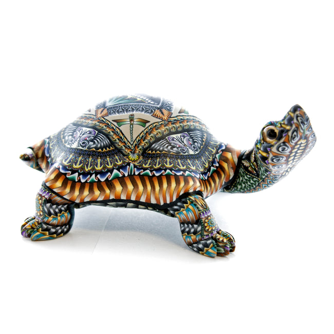 Fioré Turtle Sculpture Medium