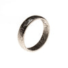 Meteorite Rounded Band Ring Size 13