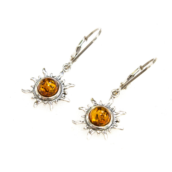 SS Amber Sun Earrings