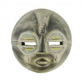 Wood Mask Enso Tears of Joy from Ghana
