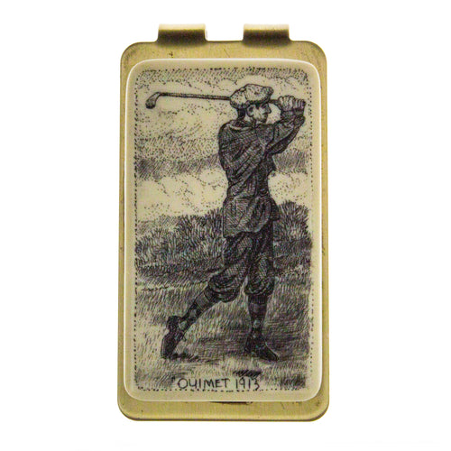 Money Clip Gold Ouimet