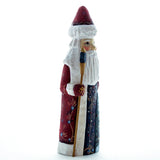 Carved Santa with a Tree