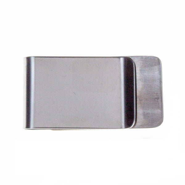 Money Clip Nickel Turqouise