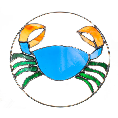 Blue Crab Sun Catcher