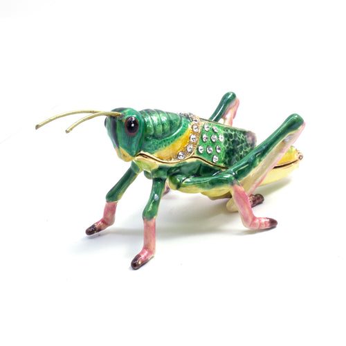 Cloisonne Box Grasshopper